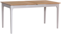 Freya Painted Oak 1.6 Butterfly Extending Table
