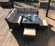 Manhattan Sofa Dining Set