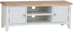 Rosie Painted Oak Large TV Unit- White