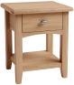 Rosie Oak Lamp Table