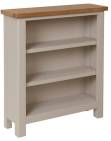 Isabella Painted Oak Small Wide Bookcase