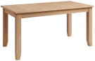 Rosie Oak 1.6 Butterfly Extending Table