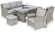 Cambridge Sofa Dining Set With Rising Table And Ice Bucket