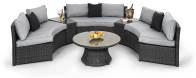 Curved Half Moon Sofa Set