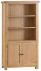 Belle Oak Large Bookcase