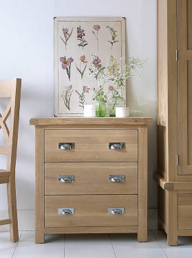 Blue Lagoon Furniture Belle Oak Bedroom Collection
