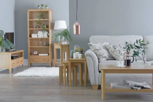 Blue Lagoon Furniture Freya Oak Living And Dining Collection