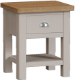 Isabella Painted Oak Lamp Table
