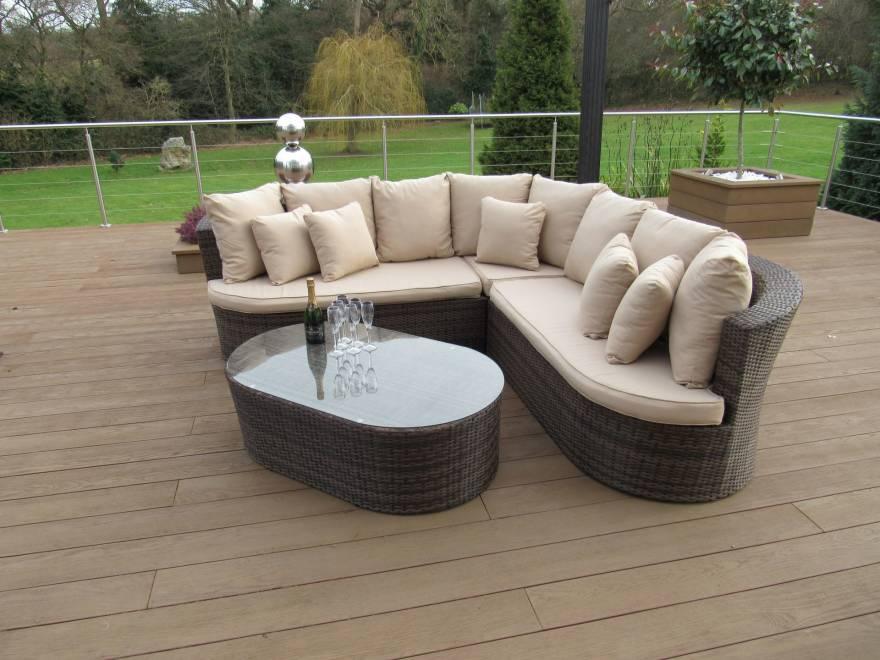 Adelaide Curved Sofa Set