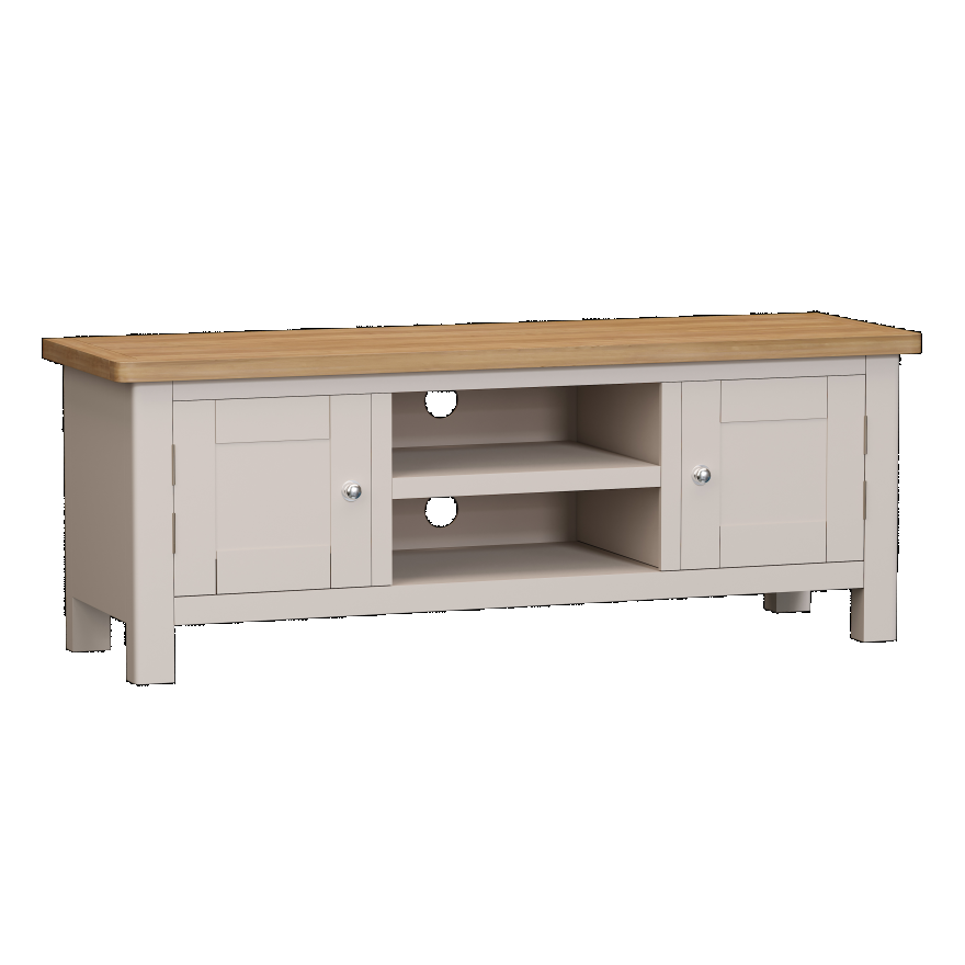 Isabella Painted Oak Large TV Unit