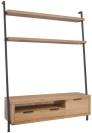 Florence Wall TV Unit Bookcase