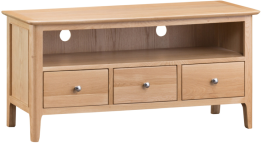 Freya Oak Large TV Unit