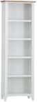 Rosie Painted Oak Large Bookcase- White