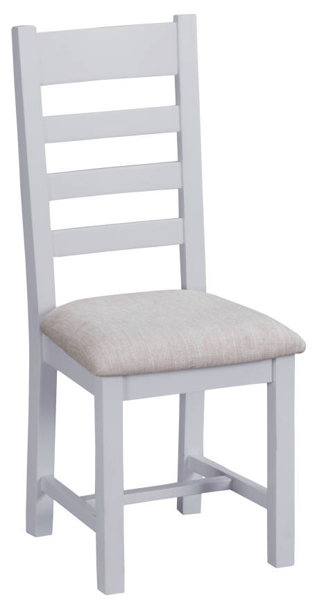 Ladder Back Chair Fabric Seat