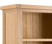 Lime- Washed Oak Bookcases