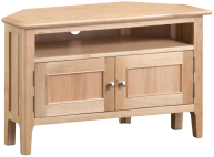 Freya Oak Corner TV Unit