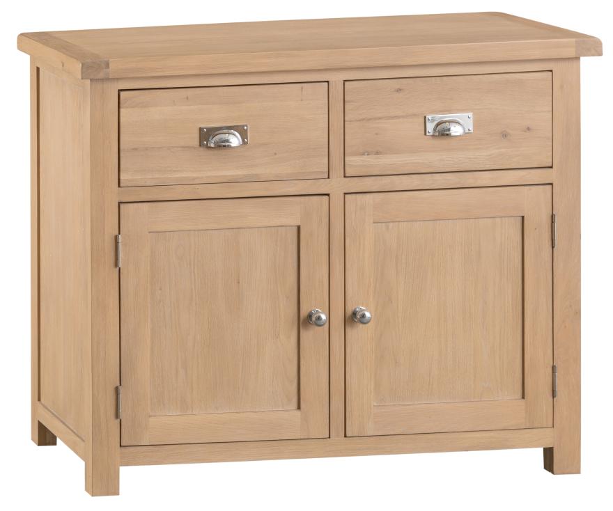 Oak 2 Door 2 Drawer Sideboard