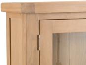 Belle Lime- Washed Oak Small Dresser Top