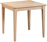 Freya Oak  Fixed Top Table