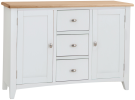 Rosie Painted Oak Large Sideboard- White