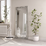Large Rectangle Mirror Available In Silver Or White Frame (MIR02- LNR)
