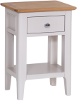 Freya Painted Oak Side Table