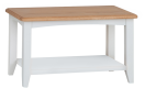 Rosie Painted Oak Coffee Table- White