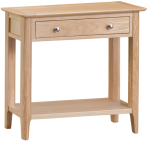 Freya Oak Console Table
