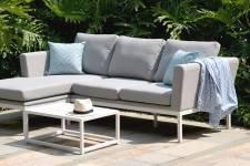 Pulse Chaise Sofa Set- Lead Chine