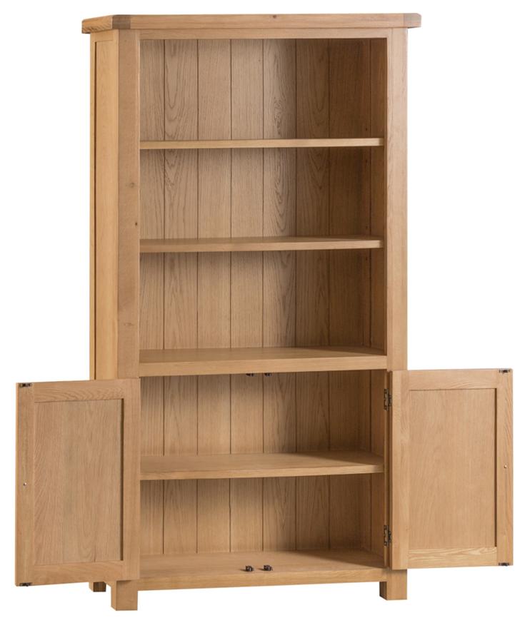 Belle Oak Large Bookcase