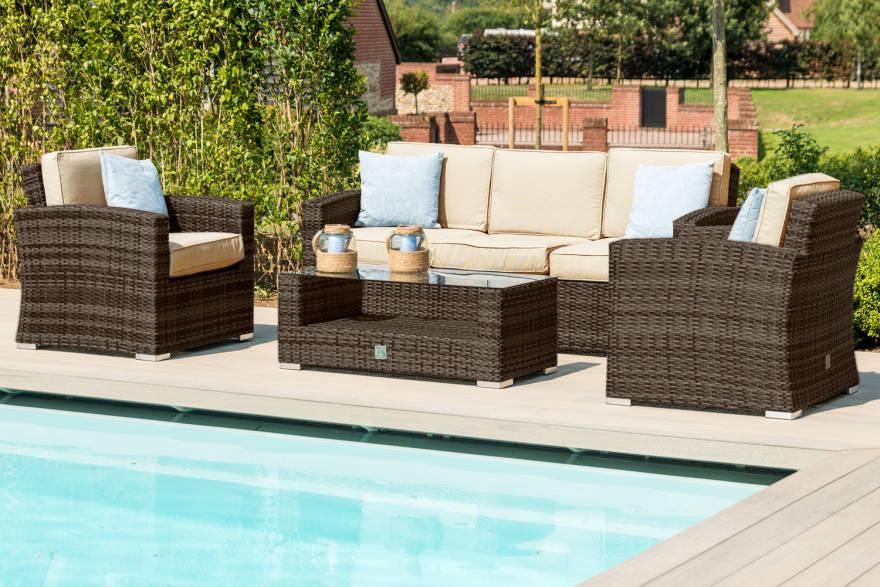 Kingston 3 Seat Sofa Set
