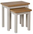 Isabella Painted Oak Nest Of 2 Tables
