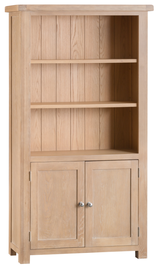 Oak Large Bookcase