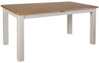 Isabella Painted Oak 1.6m Butterfly Extending Table