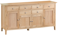 Freya Oak 4 Door Sideboard
