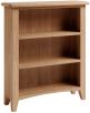 Rosie Oak Small Wide Bookcase