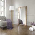 Large Rectangle Mirror Available In Gold Or Silver Frame (MIR03- LNR)