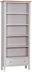 Freya Painted Oak Large Bookcase