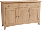 Rosie Oak 3 Door Sideboard